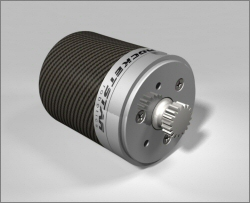 Coreless Brushless DC Motor